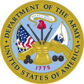 United States Department of the Army Seal