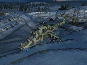 WiC Ingame Mi-24V Hind