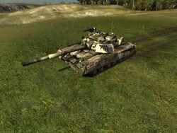 T-80U HQ green