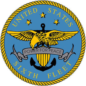 US Sixth Fleet Logo high resolution version