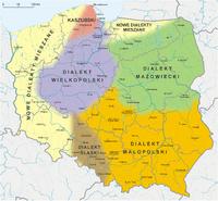 Polska-dialekty wg Urbańczyka