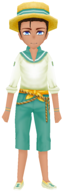 Fishing Outfit- Turquoise (Male)