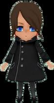 Black Felt Coat (Female)