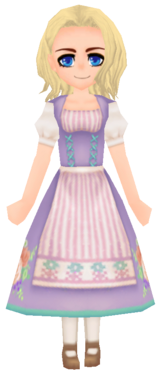 Floral Traditional Wear- Lilac (Female)