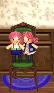 Ornamental Chair- Doll