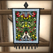 Harvest Tapestry Black