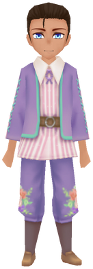 Floral Traditional Wear- Lilac (Male)