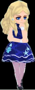 Night Sea Summer Dress (Female)