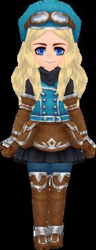 Mountain Corps Wear - Blue (Female)