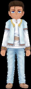 Kukulia Clothes- White (Male)