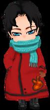 Red Ihm Child's Coat (Male)