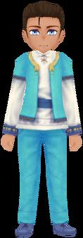 Kukulia Clothes - Aqua (Male)