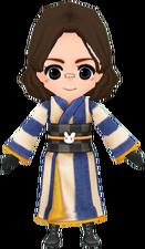 Junior Kimono - Navy (Male)