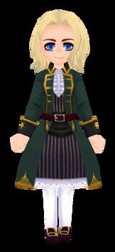 Sea Green Pirate Coat (Female)