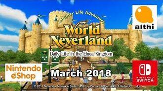 WorldNeverland - Elnea Kingdom for Nintendo Switch Trailer 1