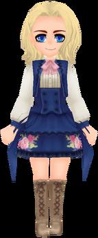 Flower Knight- Navy (Female)