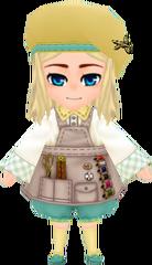 Junior Tailor Garb - Mint (Female)