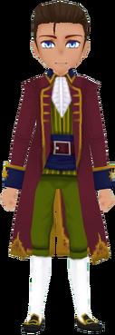 Red Pirate Coat (Male)