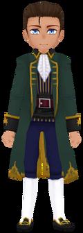 Sea Green Pirate Coat (Male)