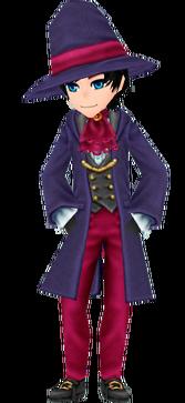 Navy Wizard Coat - Male