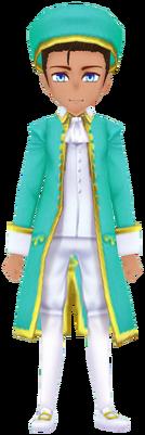 Aqua General Imperial Garb (Male)