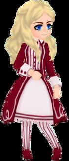 Retro Coat in Wine (Female)
