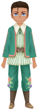 Floral Traditional Wear- Mint (Male)