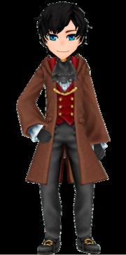 Brown Wizard Coat - Male