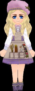 Tailor Garb - Lavender (Female)