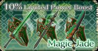 Magic Jade Weapons
