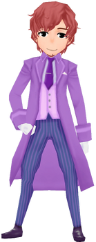 Lugdell Clothes - Violet (Male)