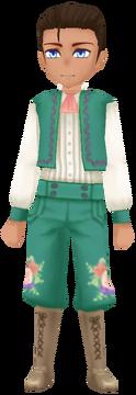 Flower Knight- Mint (Male)