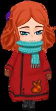 Red Ihm Child's Coat (Female)