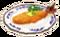 Large fried gezo