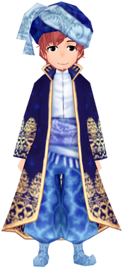 Southern Noble Attire - Navy (Male)