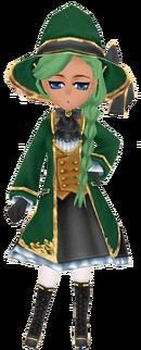 Green Wizard Coat (Female)