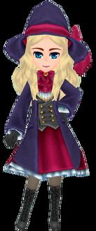 Navy Wizard Coat - Female
