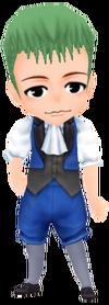 Retro Kid's Dress - Navy (Male)