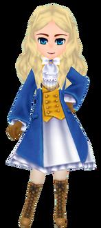Blue Wizard Coat - Female