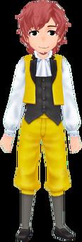 Retro Dress - Yellow (Male)