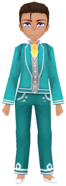Clean-Cut Elder's Clothing (Male)