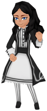Retro Coat in Black (Female)