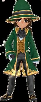 Green Wizard Coat (Male)