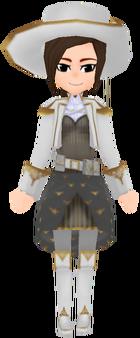 Silver-White Scholar Uniform (Female)
