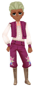 Flower Knight-Pink M
