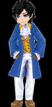 Blue Wizard Coat - Male