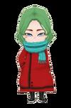 Red Childs Coat m