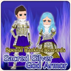 Sacred Silver God Armor