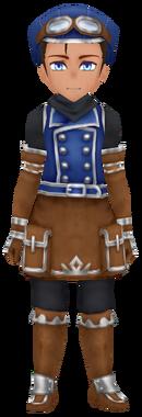 Mountain Corps Wear- Indigo (Male)