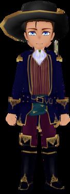 Indigo Scholar Uniform (Male)